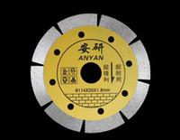 Diamanttrennscheibe Elektrische Sägeblatt Schneiden Kreisesäge Für Glas / Jade / Fliese / Stein / Marmor / Granit 114x20x1.8mm Elektrowerkzeug-Zubehör
