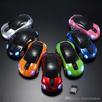 Computer Accessori 1600 DPI 2.4 GHz 3D Car Shape Mouse Wireless Optical Mouse Ricevitore USB per PC Laptop