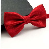 High Quality Men Fashion Solid Bowtie Wedding Butterfly Bow ...