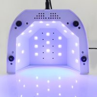 LKE Nail Dryer Machine 48W UV Lamp 10S 30S 60S Set 365+ 405nm...