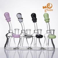 14 мм женский совместное стекло барботер с американским цветом на мундштук и banger вешалка стекло кальян кальян трубы