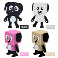 Mini Smart Bluetooth Speakers Dancing Robot Dog Bluetooth Ro...