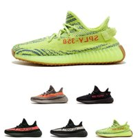 Mens Shoes Static Blue Tint 350 V2 Sneakers Butter Black Wom...