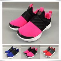 New Grey Pink Boost 550 Kids Athletic Shoes Presto Children ...