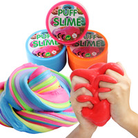 DIY Fluffy Floam Slime Scented Stress Relief Magic Kids Toy ...