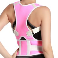 Adjustable Clavicle Spine Back Shoulder Lumbar Brace Support...
