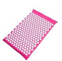 68 * 42cm Shakti 매트를위한 요가 마사지 매트 침술 건강 관리 고통 완화 쿠션 유용한 지압 패드 고품질 32ns Z