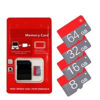 2020 echt heiß !!! 16GB 32GB 64GB TF Gedächtnis Sd Karte C10 TF Karte mit Kleinpaket geben Verschiffen frei geben Sie Kleinpaket der Sd-Adapterblase frei