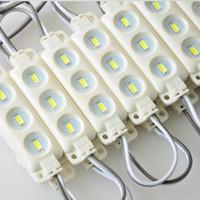 3 개의 LEDs 최고 광도 백색 온난 한 백색 LED 단위 빛 DC 12V 방수 IP65 주입 단위 빛 5730 SMD LED 표시 등