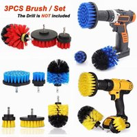 Cleaning Brush 3Pcs Per Set Cleaning Drill Brush Wall Tile G...