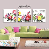 Decorative painting room modern simple pastoral landscape tr...