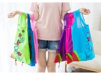 Eko Saklama Çantası Çilek Katlanabilir Alışveriş Çantaları Güzel Kullanımlık BagHigh Kalite Sıcak Satış b892
