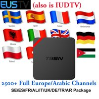 Spain IPTV Box Android 6. 0 S905X Installed EUSTV Apk Europe ...