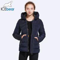 ICEbear 2017 Muhtasar Kısa Kış Ceket Kadınlar Kadınlar Için Pratik Cep Tasarım Püsküller Dekorasyon Cep Ceket 17G635