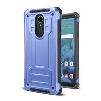 Antichoc TPU en silicone antichoc pour LG Stylo 4 Stylo 3 plus G7 Q7 Q7 plus Armure Hybrid Dual Layer Mobile Phone Case