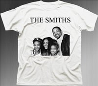The SMITHS Will Smith family funny music rock printed cotton...