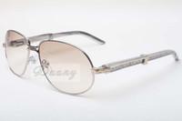 منفذ المصنع الجديد نظارات كبيرة أنيقة عارضة سيقان الرجال النساء معدن الماس نظارات شمسية 566 متقدمة، الحجم: 61-16-140MM