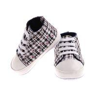 6 색 새 아기 신발 유아 유아 클래식 스포츠 스 니 커 즈 신생아 Unisex 아기 부드러운 바닥 Anti-slip T-tied 신발