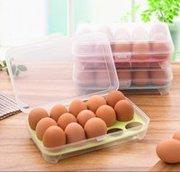 15 Portable Egg Storage Box Refrigerator Egg Crisper Picnic ...