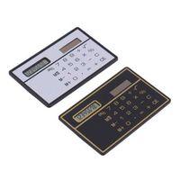 Mini 8 cijfers Slanke creditcard Solar Power Pocket Calculator Mode Speciale Heet en Convinient Calculadora Hesap Makinesi