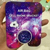Suporte de telefone celular de flash em pó saco de ar flash em pó suporte de expansão circular