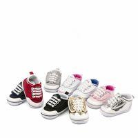 Marka Bebek Ilk Yürüyüşe Ayakkabı Bebek Rahat Küçük Kanat ayakkabı Dantel-UP Spor Bahar Ve Sonbahar Bebek Sihirli Prewalker Ayakkabı