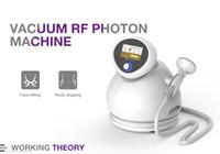 Heißer Verkauf zu Hause verwenden und Salon Vakuum Photon Gesichtspflege Anti-Aging-Radiofrequenz-Maschine für die Gewichtsabnahme