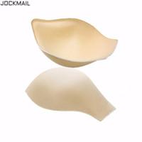 JOCKMAIL marca 2 Pz / lotto sexy push up cup pad anteriore valorizzazione Mens Pene Pouch Gay pad per Uomo Biancheria Intima, Slip, Trunks Shorts