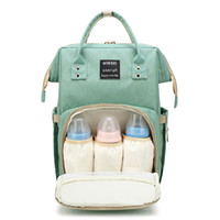 Mommy Backpack Nappie Bags Mother Maternity Diaper Backpack Grande volume Outdoor Borse da viaggio Organizer