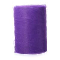 "LHBL Suave 6 ""x100yd Tulle Roll Spool Wedding Craft Nupcial Wrap Party Decor 6"" x300 'Nuevo púrpura"