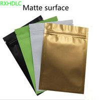 Sacs d'emballage Multi Couleur refermable Zip Mylar Sac de stockage de nourriture Sacs d'aluminium en aluminium Sac d'emballage en plastique Pochettes anti-odeur
