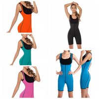 Slimming Shaper Bodysuit Sauna Suit Waist Trainer Burn Fat S...