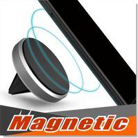 Car Mount Air Vent magnetica universale del supporto dell'automobile Phone Holder per iPhone 7 Plus One Step di montaggio rinforzato magnete più facile una guida più sicura