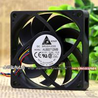 Para ventilador de CPU AMD original Delta 7 cm ventilador de CPU silencioso PWM de 4 pines AUB0712MB 0.24A