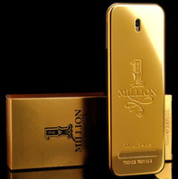 18ss New arrival hot sale luxury gold man perfume 100ml long...