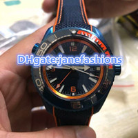 AAA high quality men brand watches blue dial nylon buckle st...