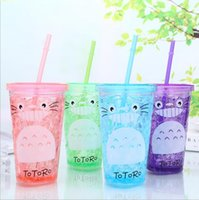 Factory direct plastic cup creative cartoon summer ice cup p...