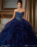 Vestidos المبتدأ الملكي الأزرق beaidng الحلو 16 فساتين quinceanera فساتين الكرة ثوب لعيد الميلاد باتي vestido الفقرة 15 أنوس