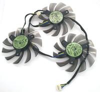 جديد الأصلي لجيجابايت GTX770 GTX780 بطاقة الرسومات مروحة التبريد T128010SU PLD08010S12HH 12 فولت 0.35A