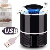 البعوض القاتل USB البعوض الكهربائية القاتل مصباح ضوئي المنزل كتم الصمام علة صاعق الحشرات فخ Radiationless