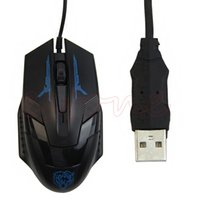 New Wired X5 USB 3D Optical Gaming Game Mouse Mice 1600 DPI ...