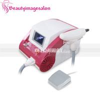 Heißer Verkauf 500 Watt Power Q-Switch ND Yag Tattooentfernung Maschine 1064nm / 532nm / 1320nm Augenbrauen Lipline Maschine
