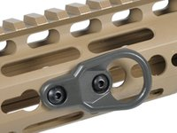 MLOK Adattatore per adattatore per imbragatura per moschettone Perimetrale per elmetto per chiave Mod System e accessori per guardamani M-LOK AR15 AK47 AK74