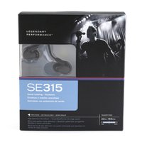 SE315 Headphones Moving Iron Earphones In- Ear Noise Cancelli...