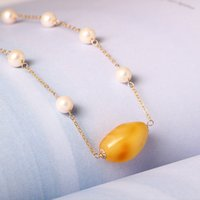Designer 14K Gold jewelry Handmade Fashion Star beeswax pear...