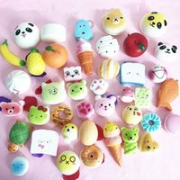 Different Styles Kawaii Squishy Slow Rebound Toy PU Pendant ...