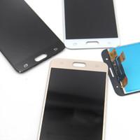 Pour Samsung Galaxy J5 Premier G570 G570F On5 2016 G5700 Écran Tactile Digitizer Assemblée Simple / Double Trou de Remplacement