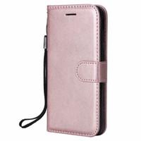 Funda billetera para samsung galaxy j330 j3 2017 edición europea tapa trasera de color puro de cuero de la pu bolso del teléfono móvil fundas coque