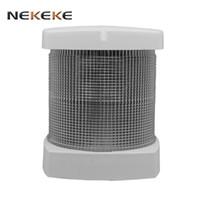 Feu de navigation à LED marine NEKEKE Couleur de la coque: Blanc Lumière Angle de recouvrement: 225 °