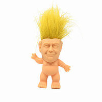 Newest 3. 8 inch Action Figures Doll Long Hair Troll Doll Lep...